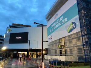 aucop-event-nice-gare du sud-pathé-éclairage-ramel communication