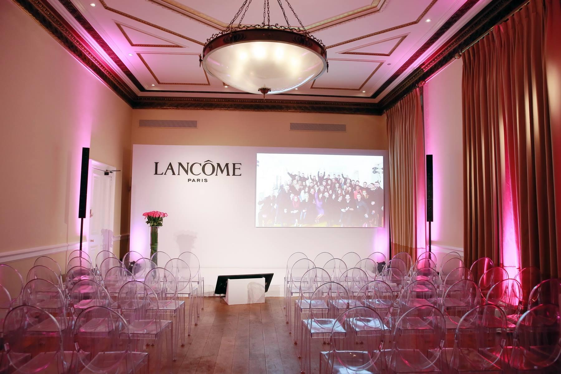 Mise en place technique séminaire Lancôme