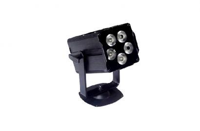 Mini projecteur à LED RGB 15W DMX