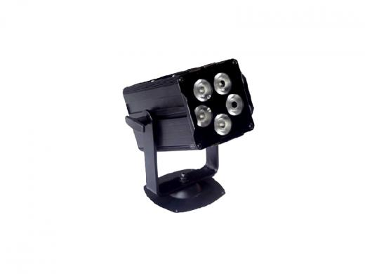Mini projecteur à LED RGB 15W DMX