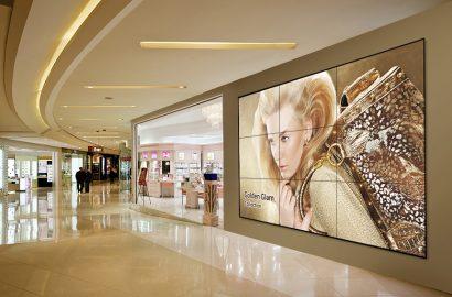 Mur d'image UE55D Samsung