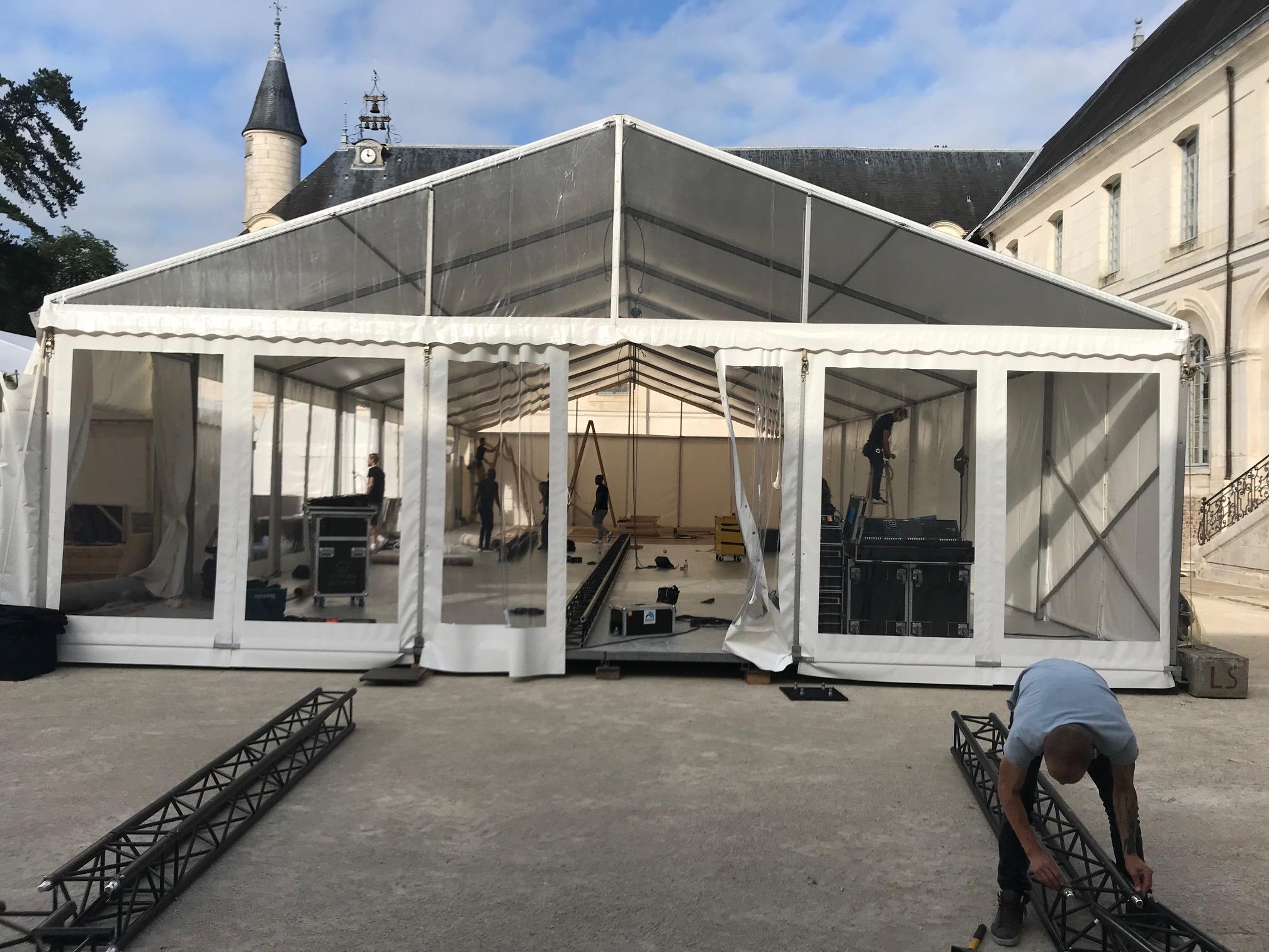 aucop-evenement-ikebana-abbaye de valasse-evenement-son-eclairage-deco-wissous-audiovisuel