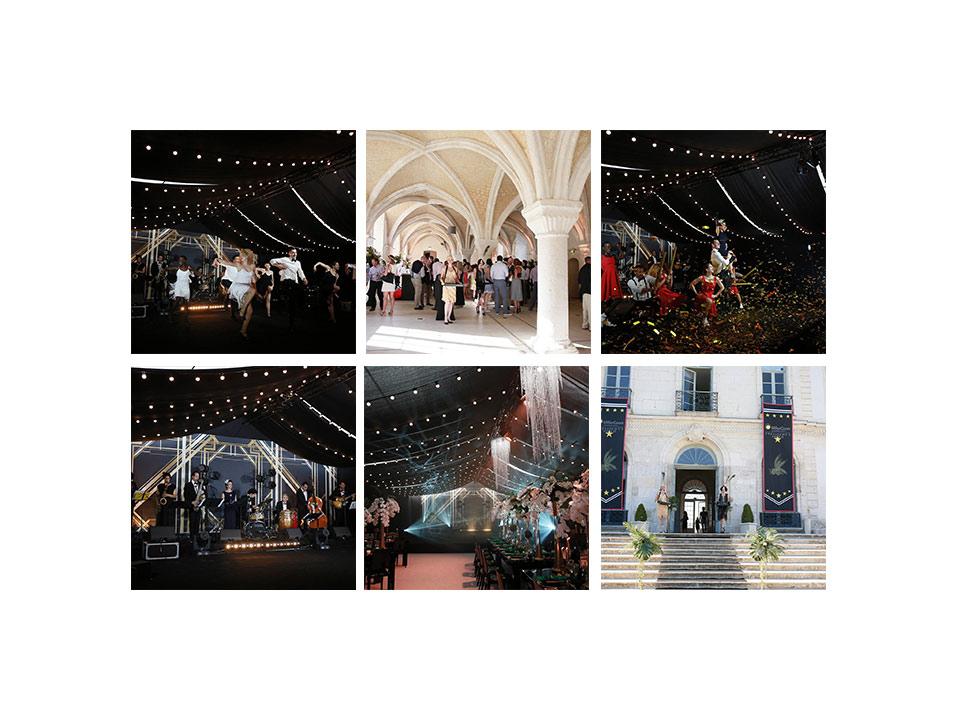 aucop-event-abbaye de valasse-evenement-son-eclairage-deco-wissous-audiovisuel-ikebana