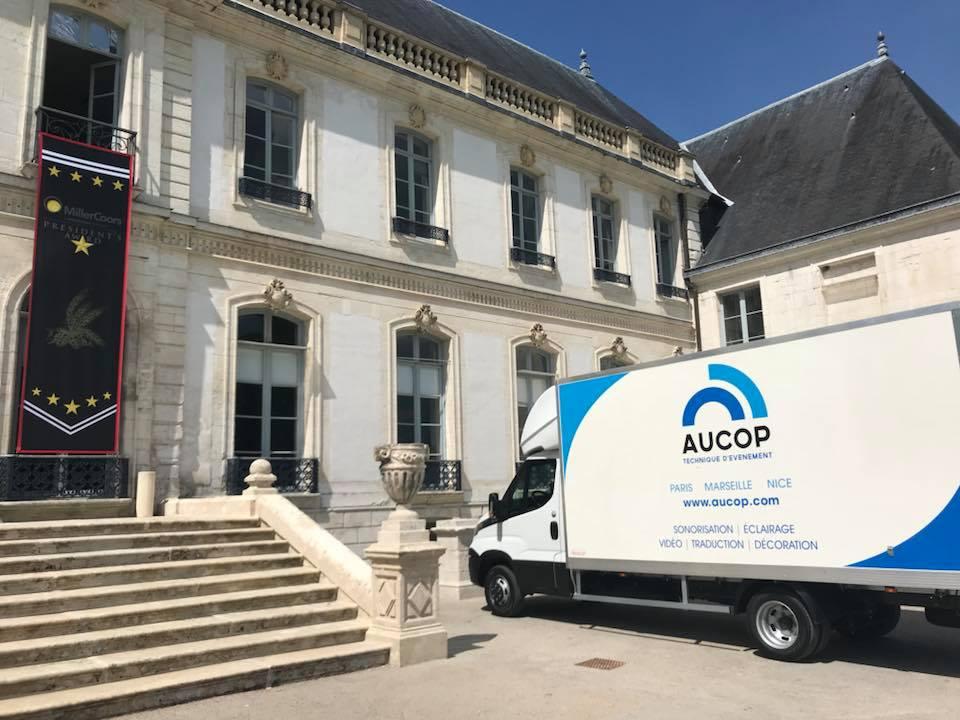 aucop-event-abbaye de valasse-evenement-son-eclairage-deco
