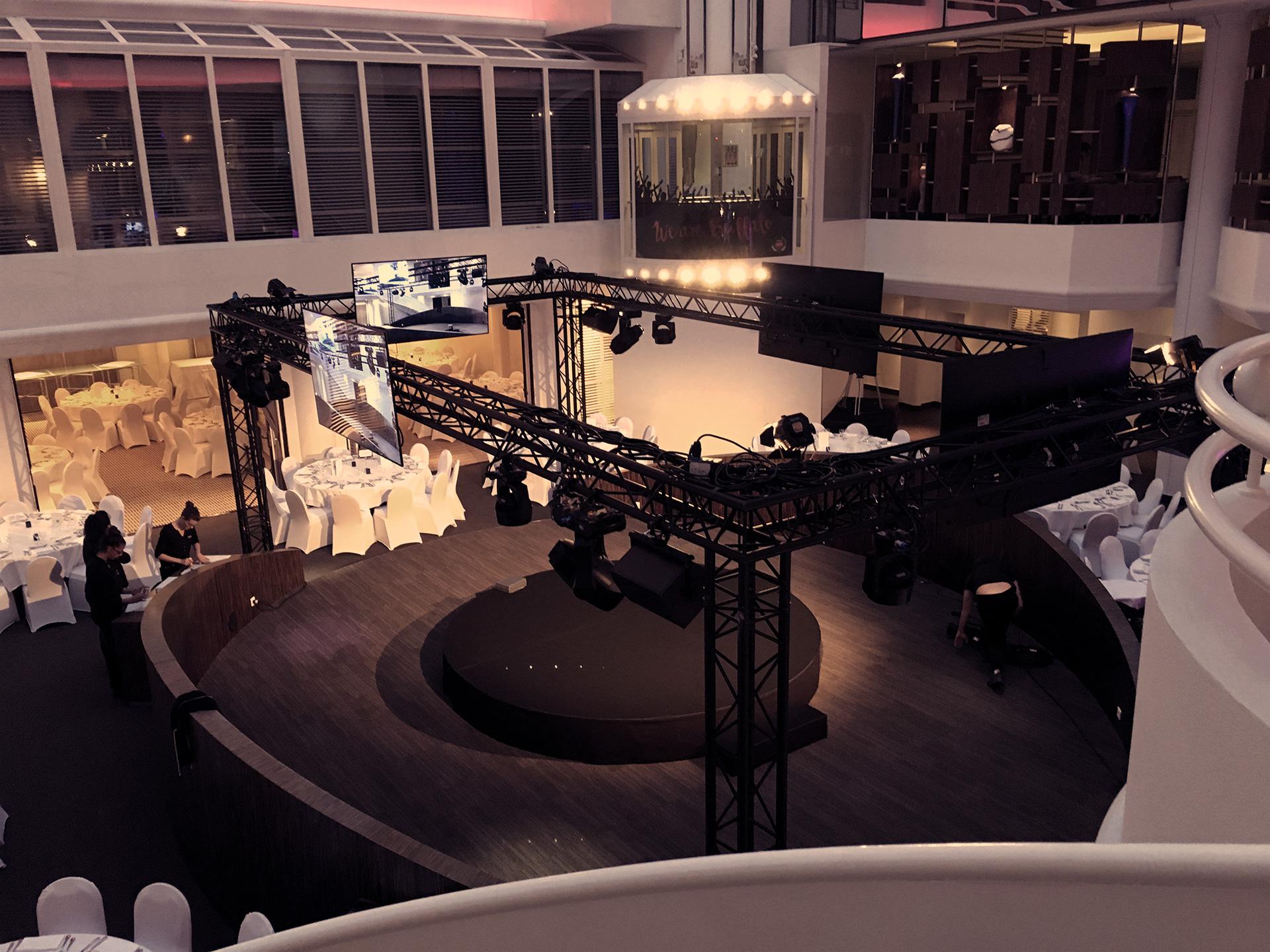 Dîner et présentation salon Atrium, AC Hôtel Ambassadeur