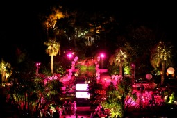 eclairage des jardins