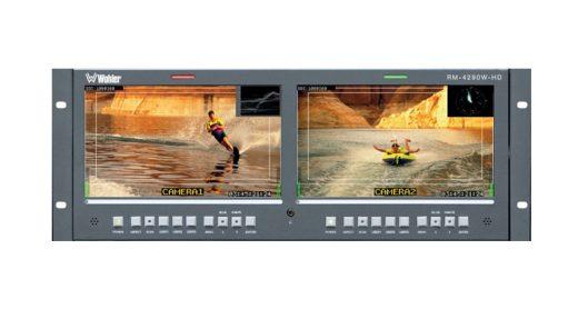 Bandeau 2 moniteurs - WOHLER RM-4290W-video-moniteur-video-location-materiel-aucop