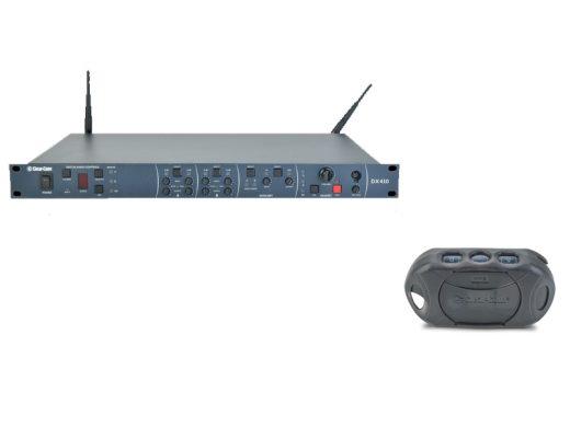 CLEAR-COM-DX-410-+-4-DP-410---SONORISATION---COMMUNICATION--SANS-FIL---DEUX-CANAUX---AUCOP---LOCATION---MATERIEL---AUDIOVISUEL