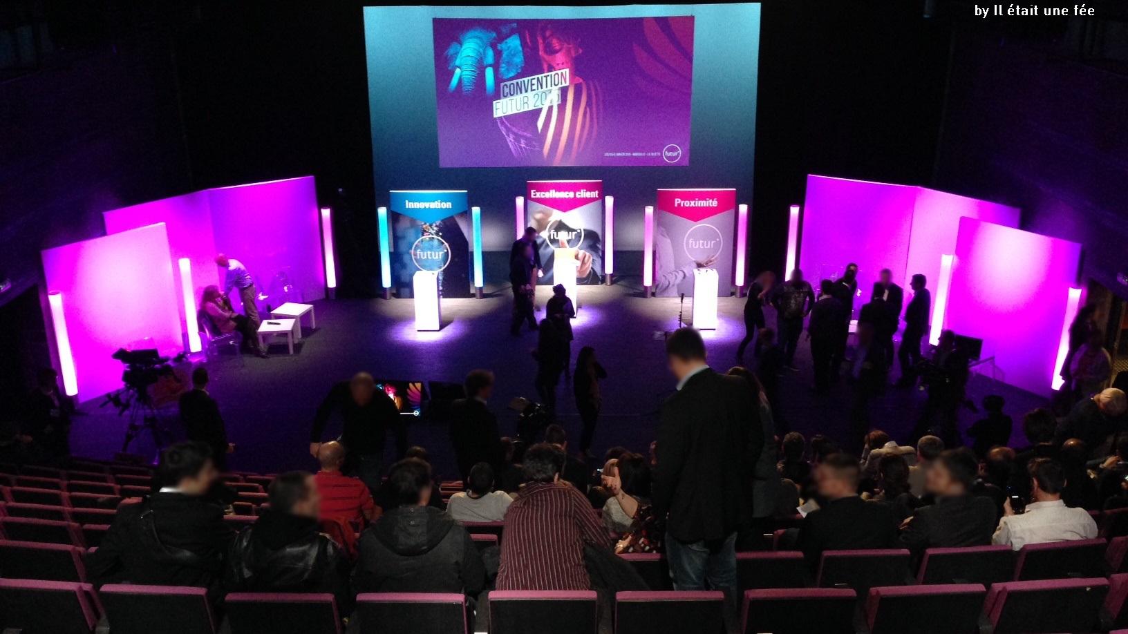 soirée Corporate 2015 de la société Futur° - la partie technique de cet évènement. - event - audiovisuel - matériels - Marseille-aucop