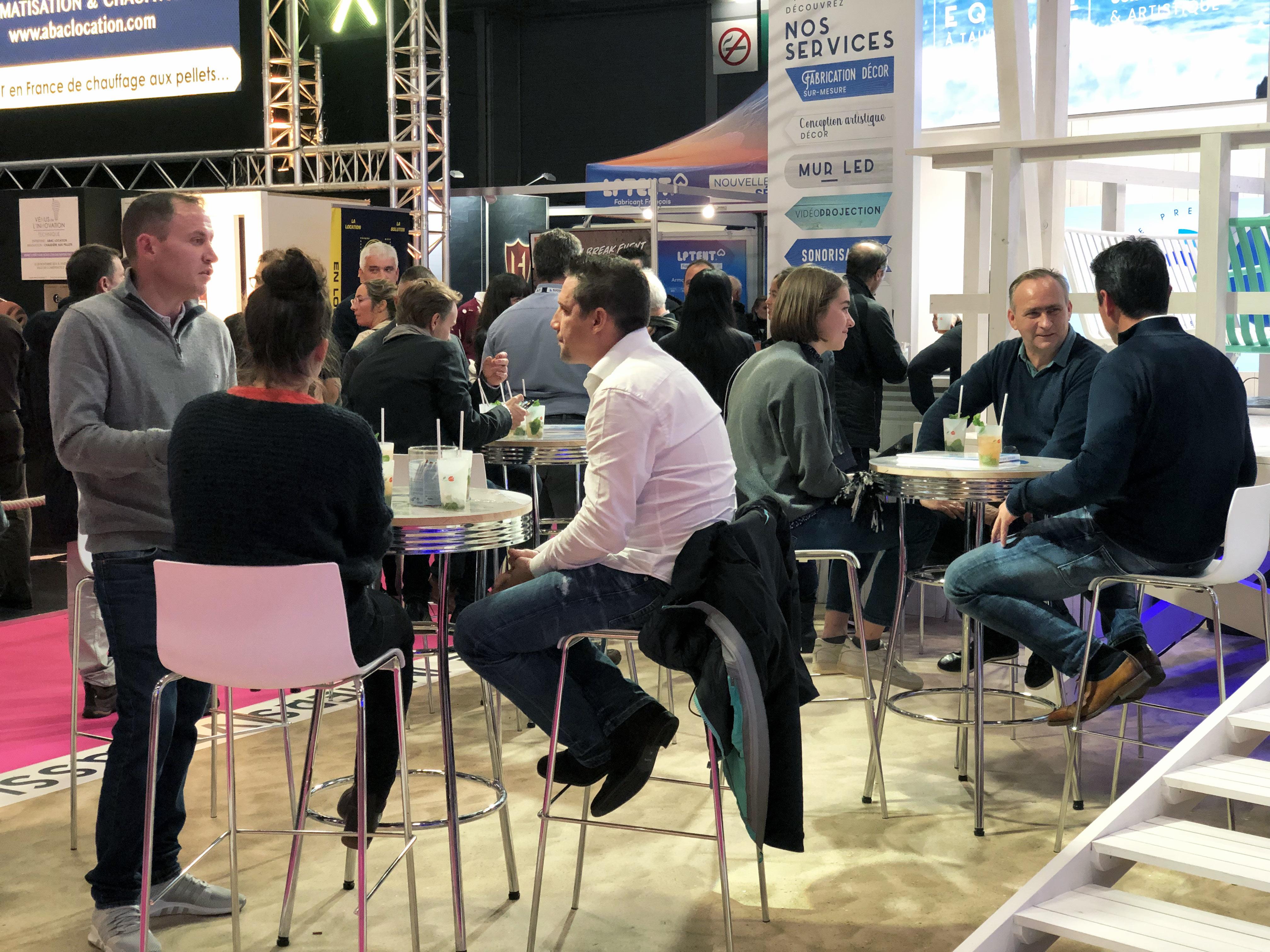 Heavent Paris 2019-AUCOP-HEAVENT19-PARIS-STAND-MOJITO-EVENEMENT