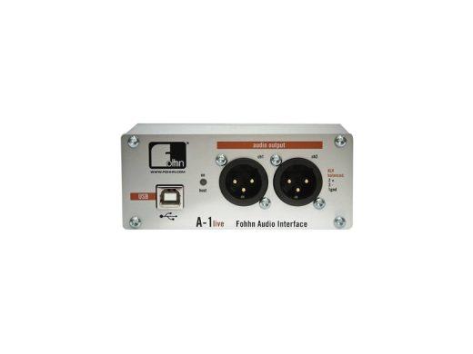INTERFACE AUDIO MAC OU PC A1 LIVE FOHHN-sonorisation-accessoires-aucop-location materiel audiovisuel