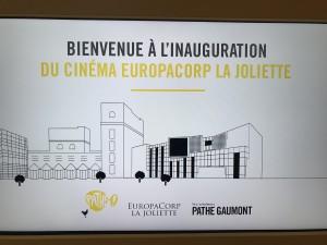 Inauguration du nouveau complexe Europacorp de la Joliette-aucop-marseille-event-evenement-son-video-lumiere-deco-marcade event-audiovisuel-location-materiels
