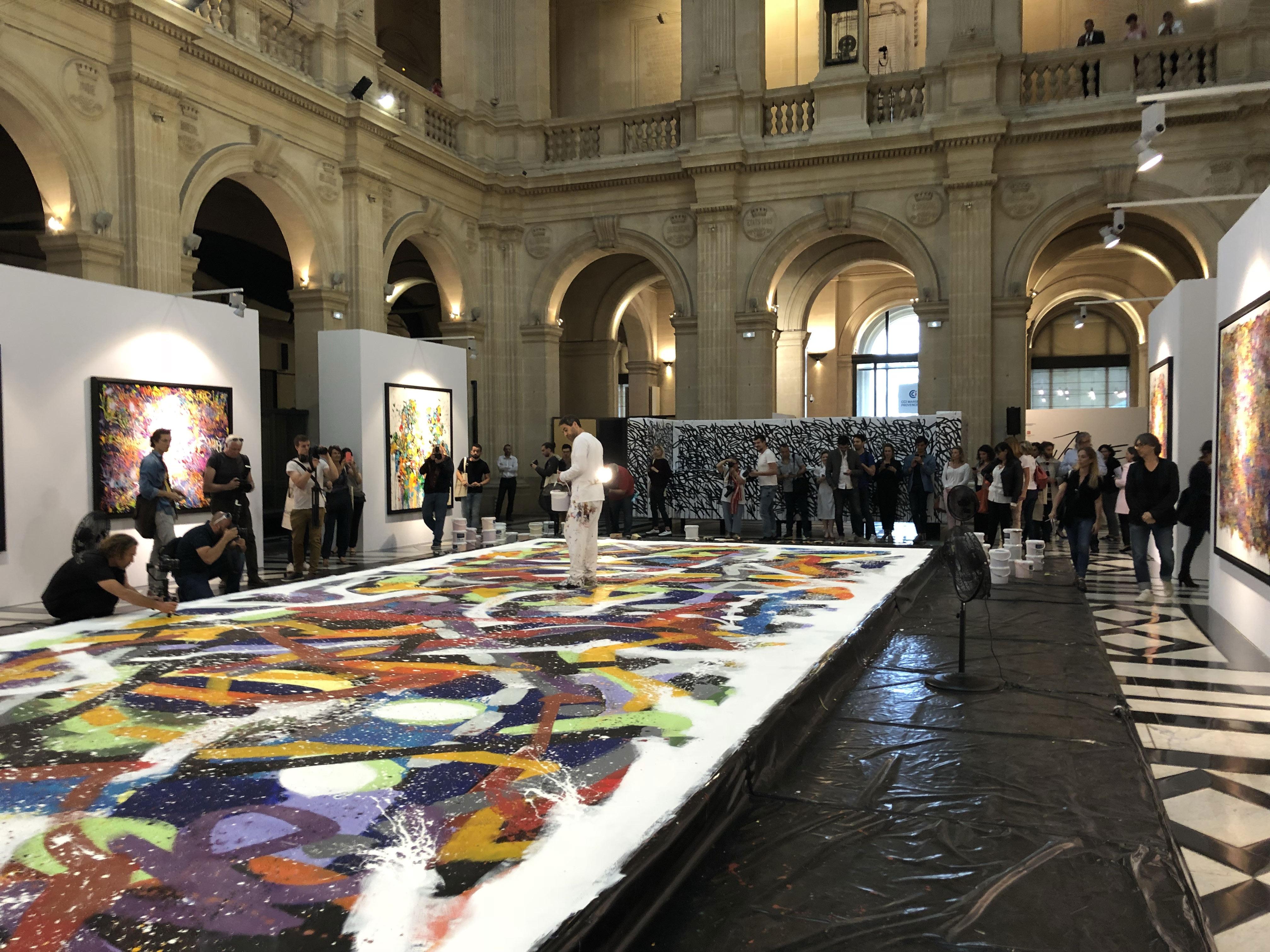 JonOne-bache-peinture-art-contemporain-exposition-expo-decoration-deco-toile-marseille-palaisdelabourse-audiovisuel-aucop-abstracted-love