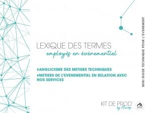 Kit de prod by Aucop - lexique 2