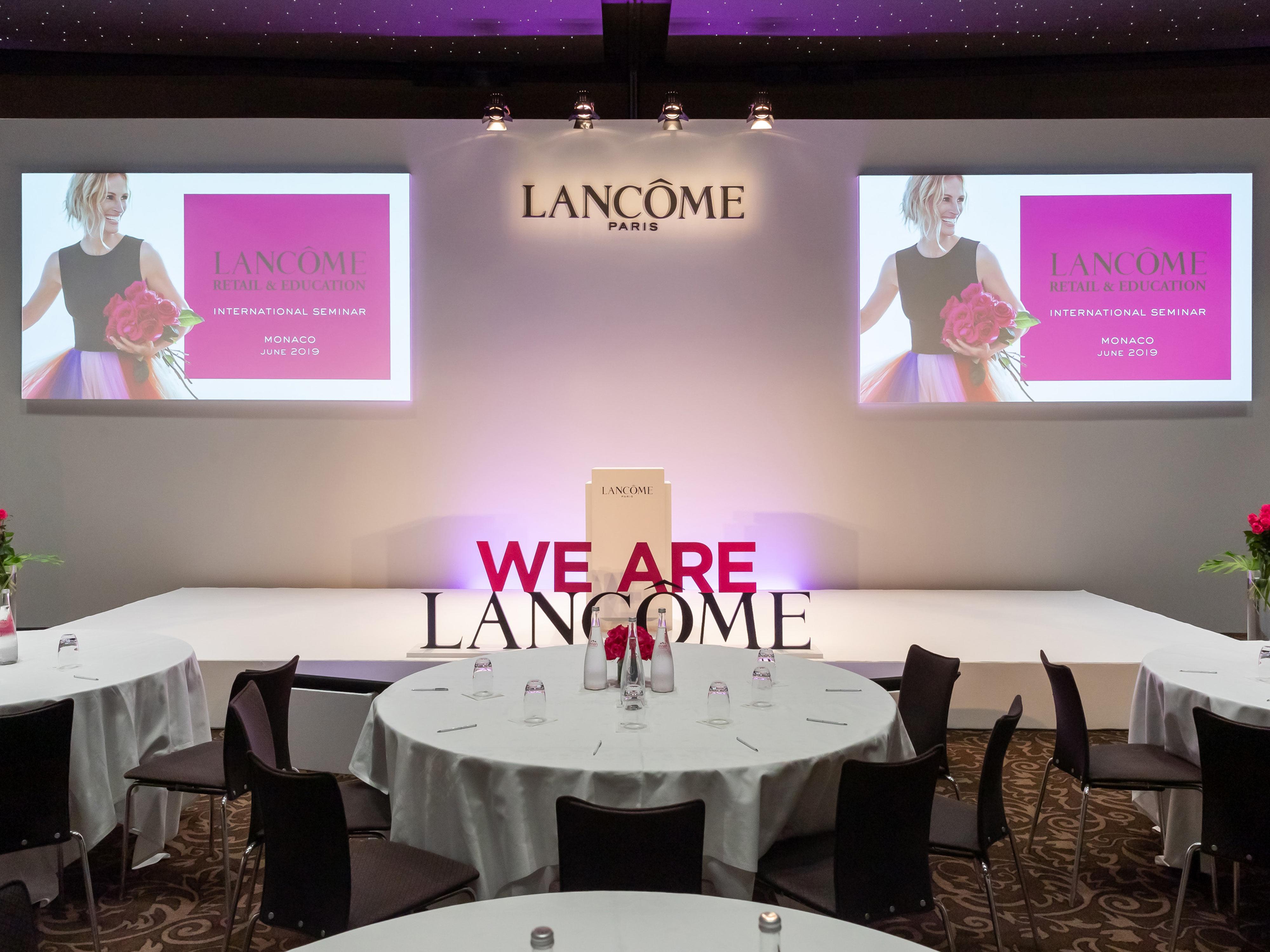 Plénière Lancôme 2019 - Ikebana