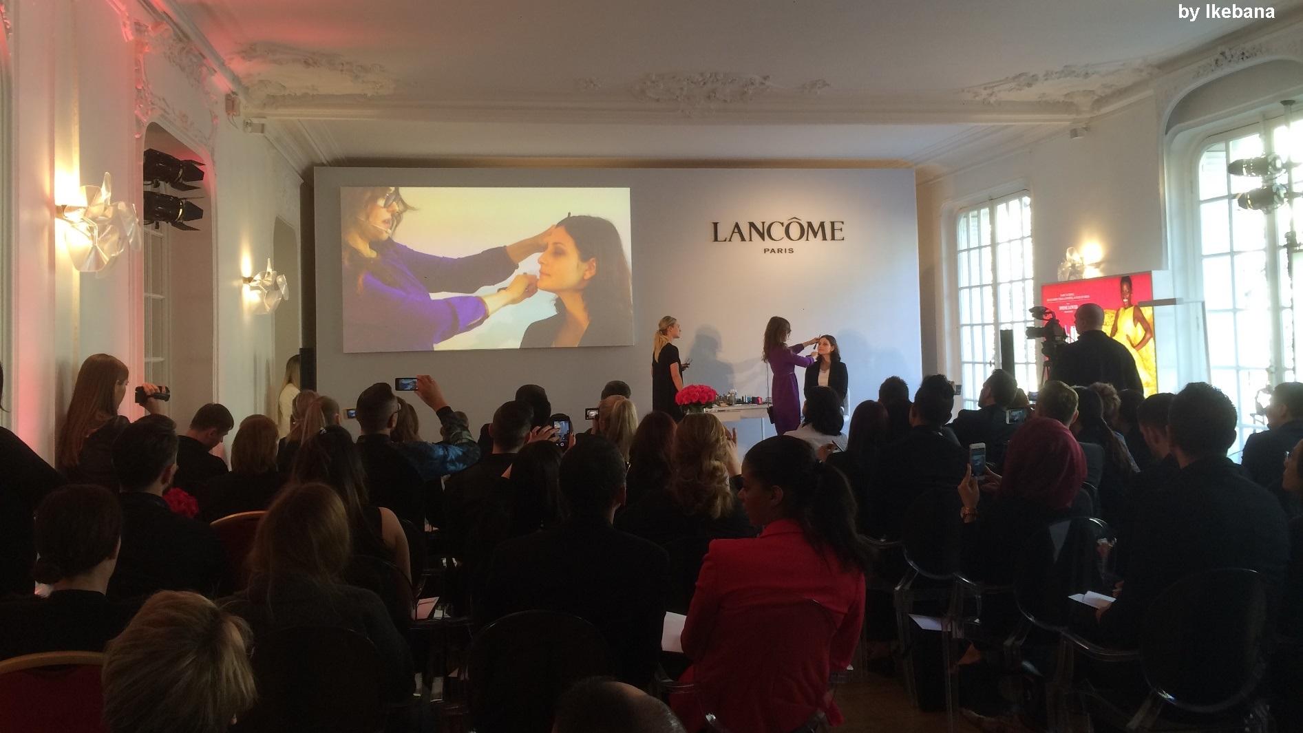 Lancôme Paris - agence Ikebana - Lancôme- AUCOP pour équiper les Salons Hoche dans le cadre d'une démonstration maquillage à Paris.