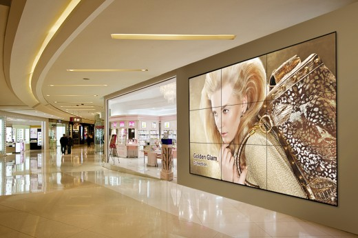 Mur d'images-UE55D-Samsung-materiel-ecran-aucop