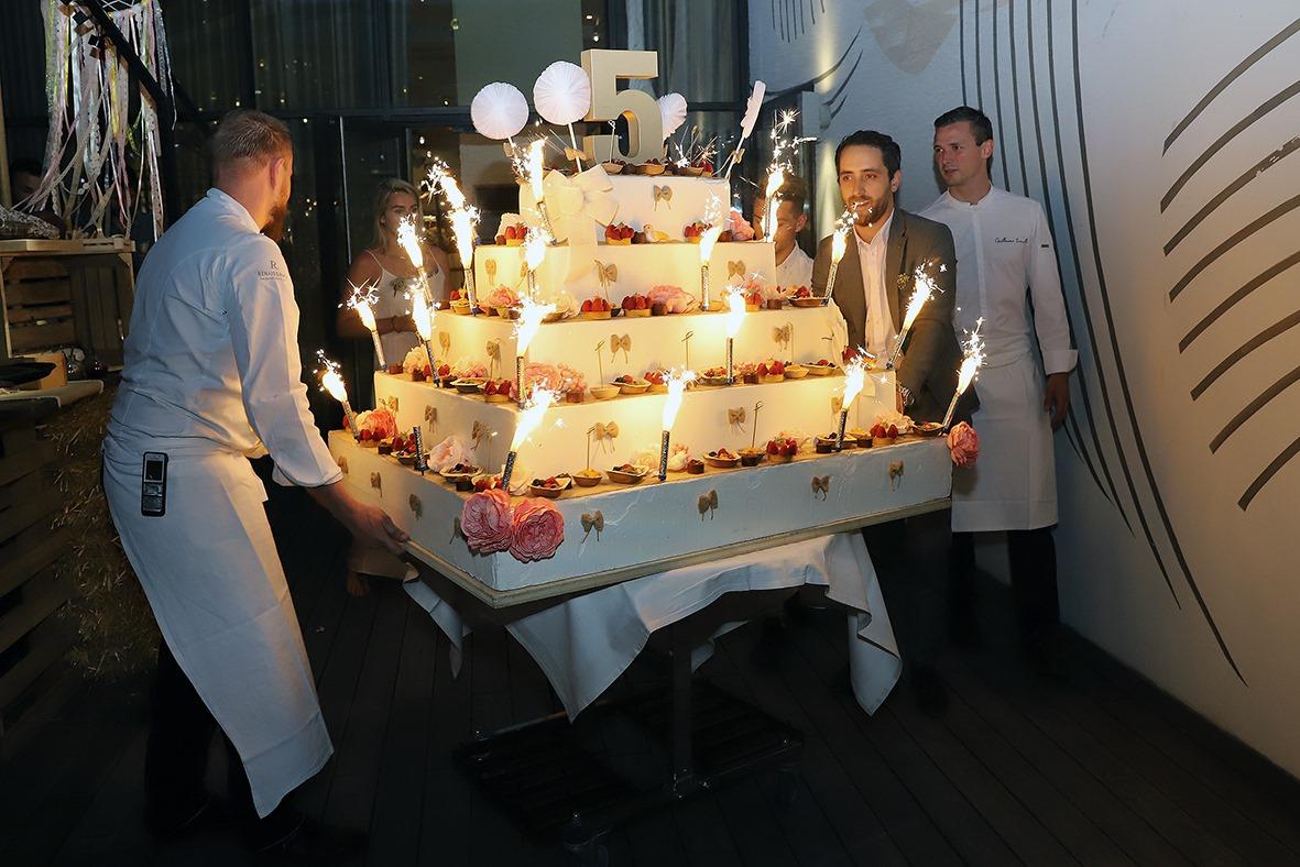 Une garden party a l Hotel Renaissance d Aix en Provence