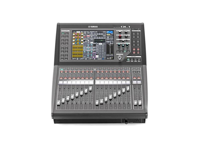 Yamaha ql1 mixage numerique consoles numeriques aucop - Console de mixage numerique ...