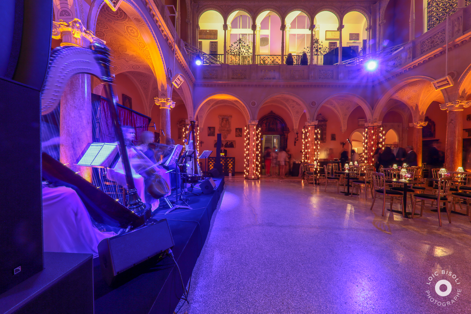 aucop-Villa Ephrussi de Rothschild-Studio Loic Bisoli-lumieres-facade-nice-soiree-saint jean cap ferrat-evenement-deco