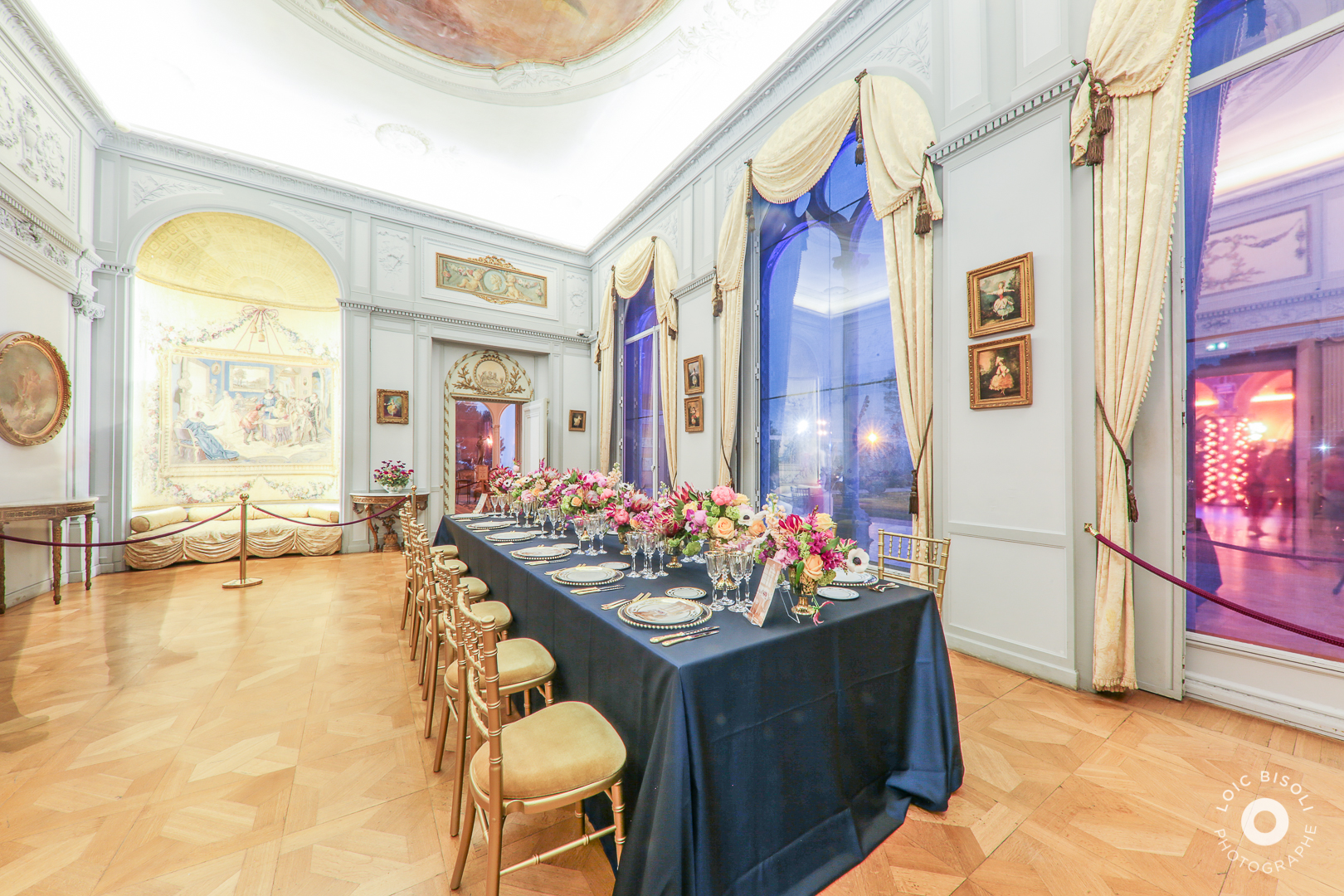 aucop-Villa Ephrussi de Rothschild-Studio Loic Bisoli-lumieres-mur-facade-nice-soiree-saint jean cap ferrat-event
