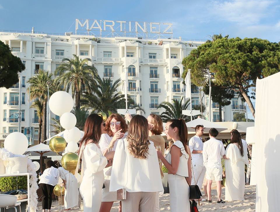 Maison Lancôme-aucop-evenement-lancome-cannes-hotel-du-martinez-deco-son-lumieres-video