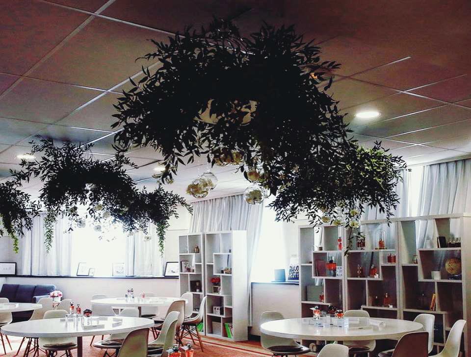 Maison Lancôme-aucop-evenement-lancome-cannes-martinez-deco-son-lumieres-video