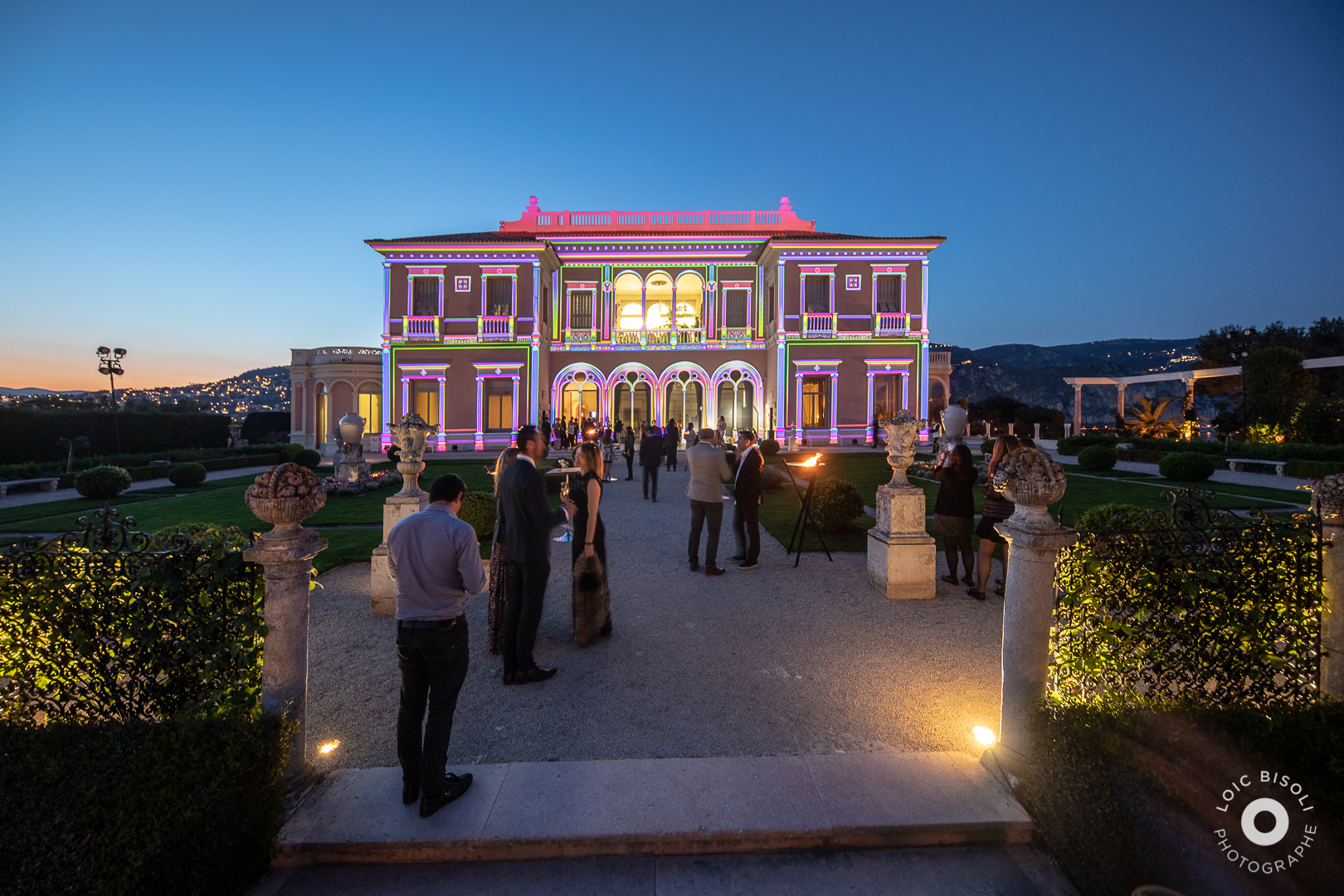 aucop-event-Studio Loic Bisoli-paca-lumieres-evenement-Villa Ephrussi de Rothschild