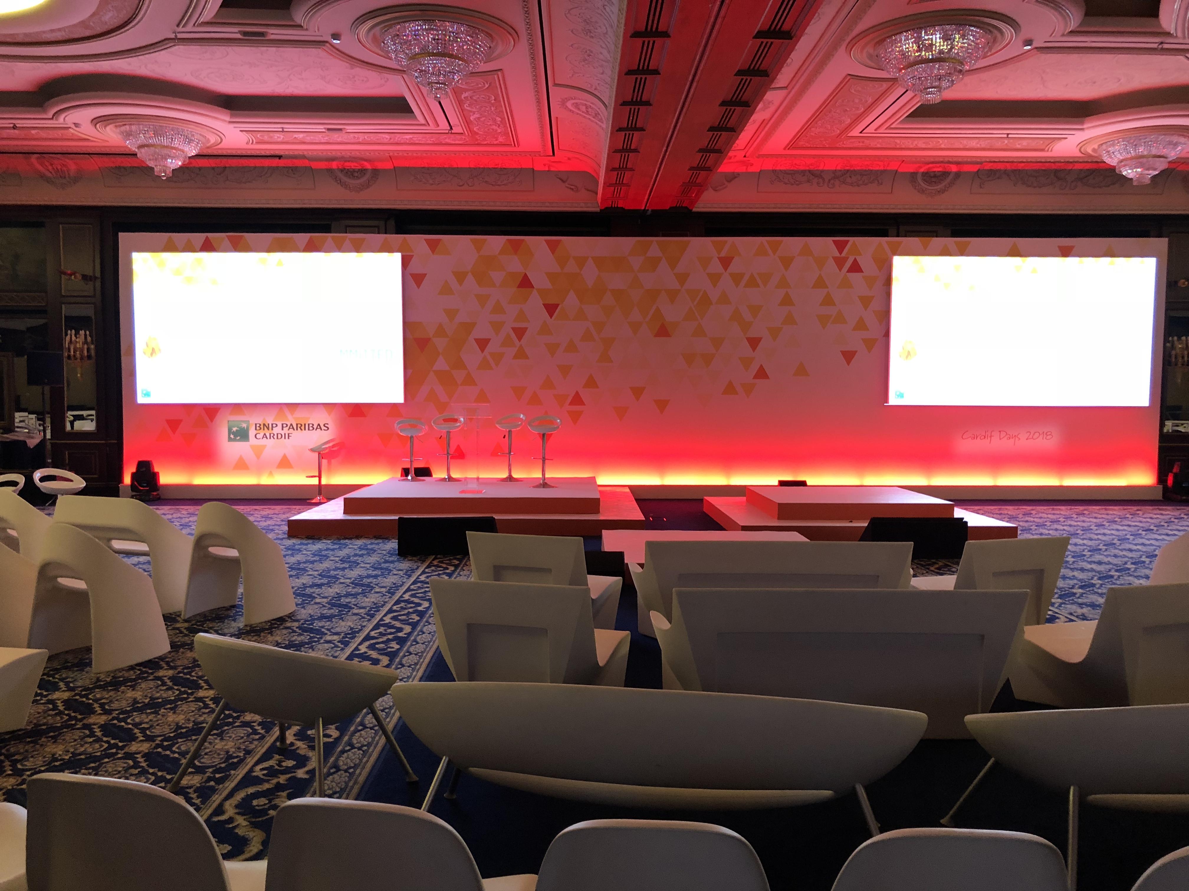 aucop-event-italie-twobevents-lac majeur-son-video-deco-scene-ecrans-audiovisuel-eclairage-ecrans-grand hotel dino-decoration-corporate-evenement-bnp paribas