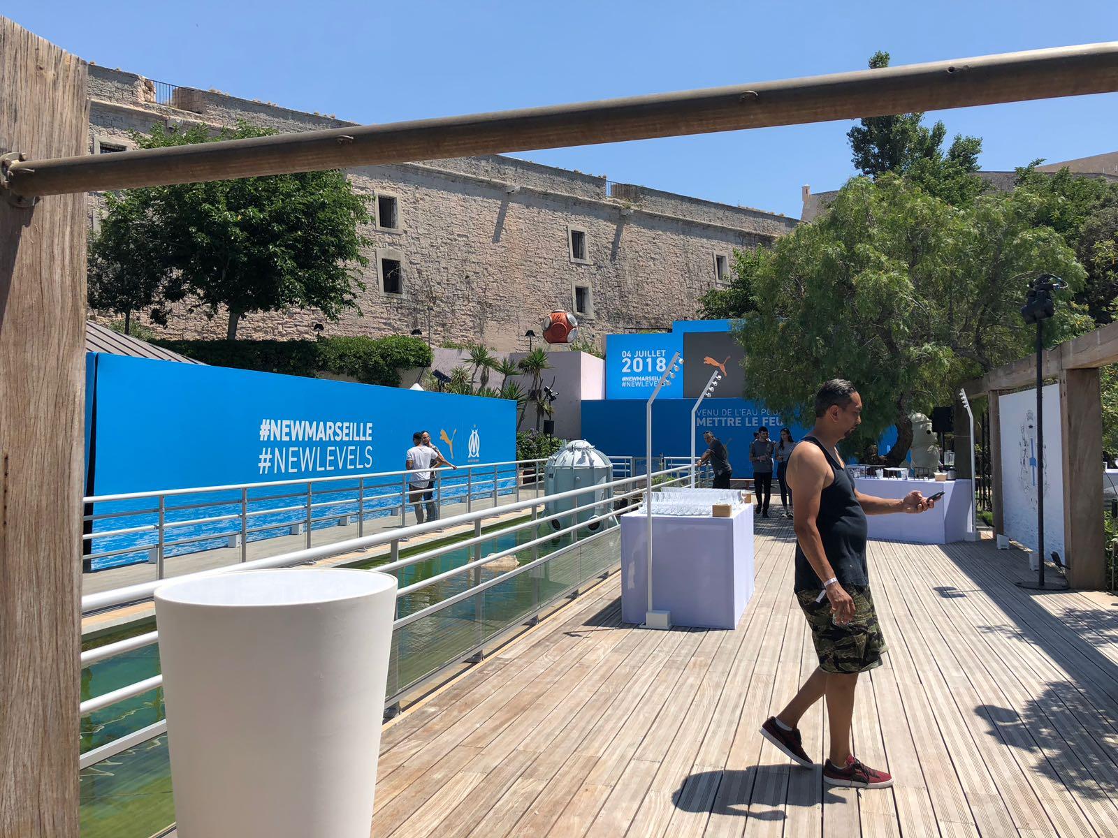 aucop-event-om x puma-marseille-casa delauze-soirée de lancement-maillots