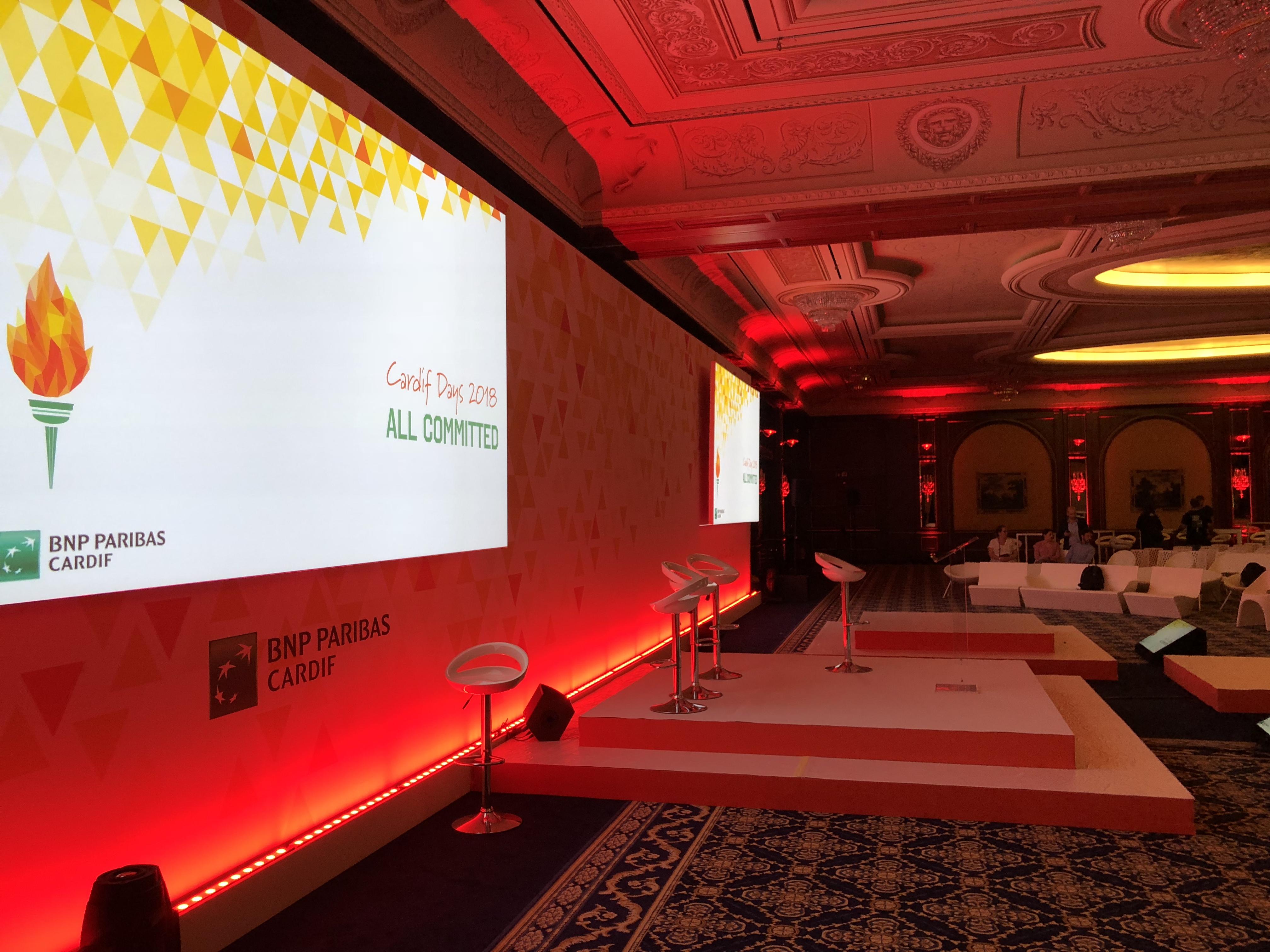 aucop-event-twobevents-son-video-deco-scene-lac majeur-bnp paribas-evenementiel-audiovisuel-italie-Samsung LED 40