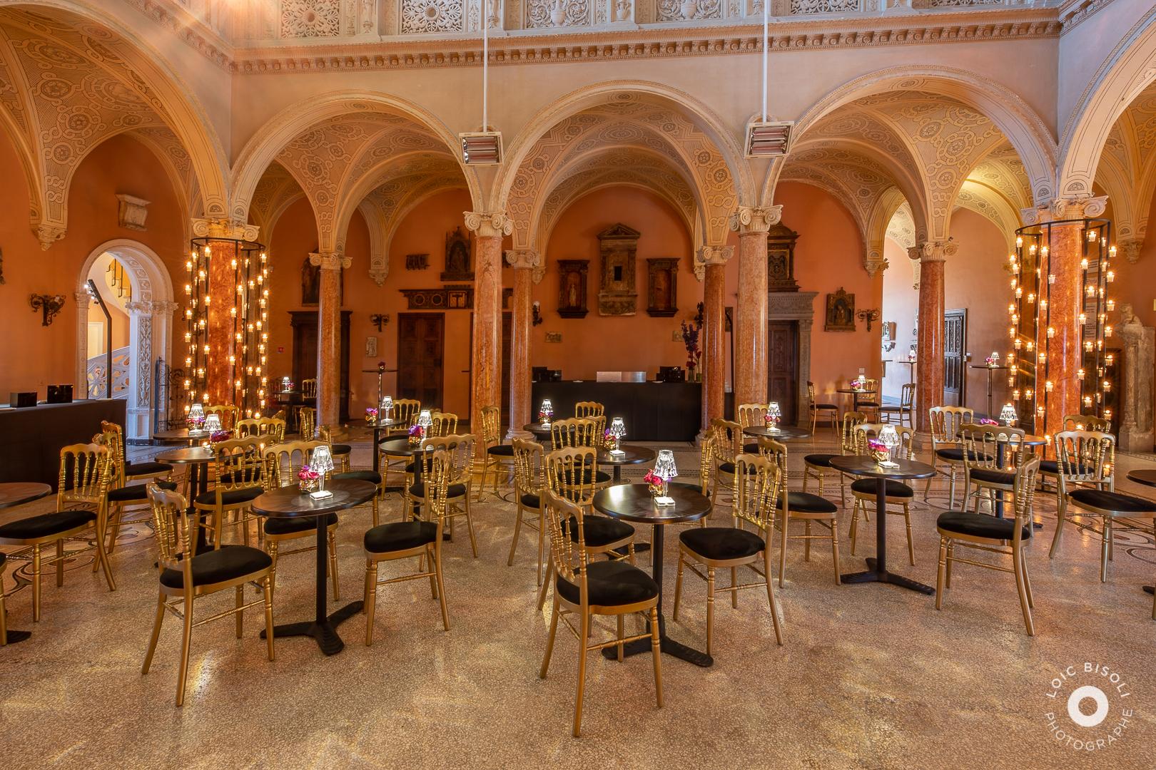 aucop-soirée-event-Villa Ephrussi de Rothschild-Studio Loic Bisoli-evenement-lumieres