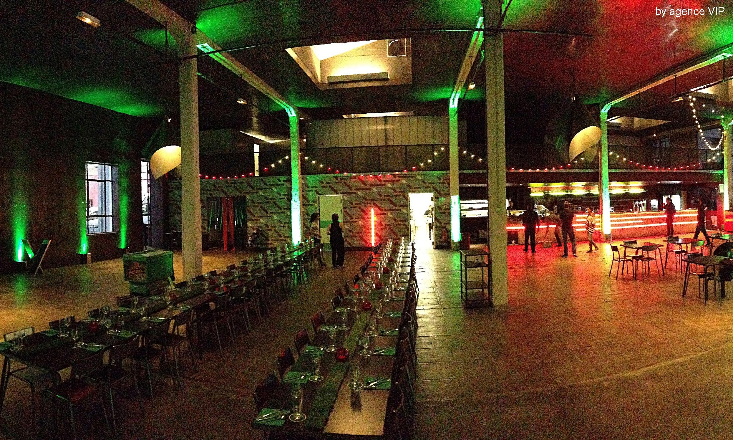 Trophées Heineken - evenement Marseille - mise en lumière - La Friche Belle de Mai - prestation technique d'évènement - audiovisuel - matériels