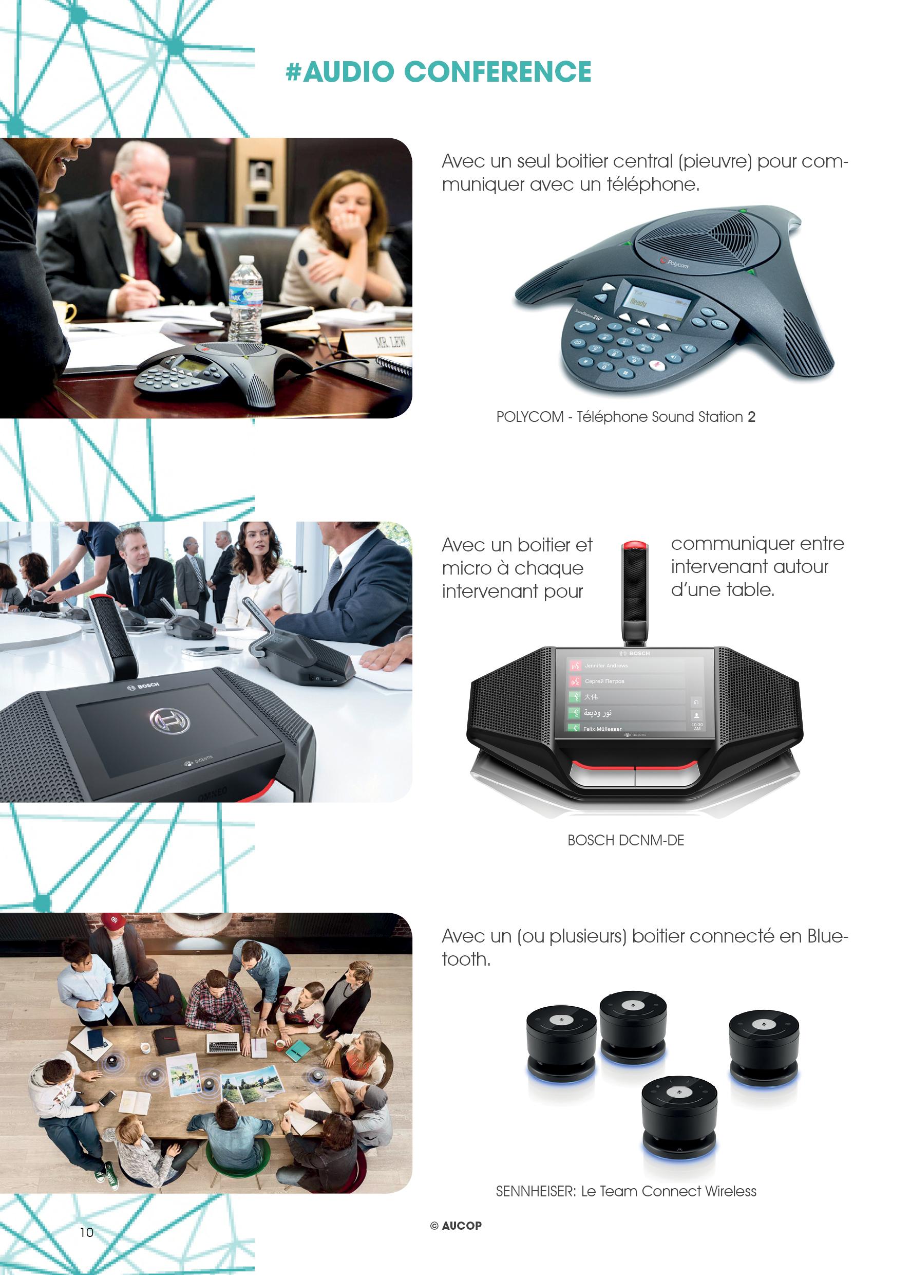 kit de prod by Aucop - audio conference - bosch-bosch dcnmde-conference-evenement-evenementiel-aucop-sennheiser-team connect